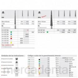6801-016 Fg Fresa Diamante...